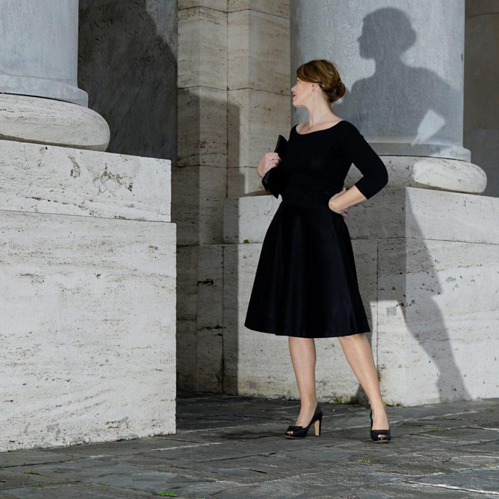 danube velvet skirt
