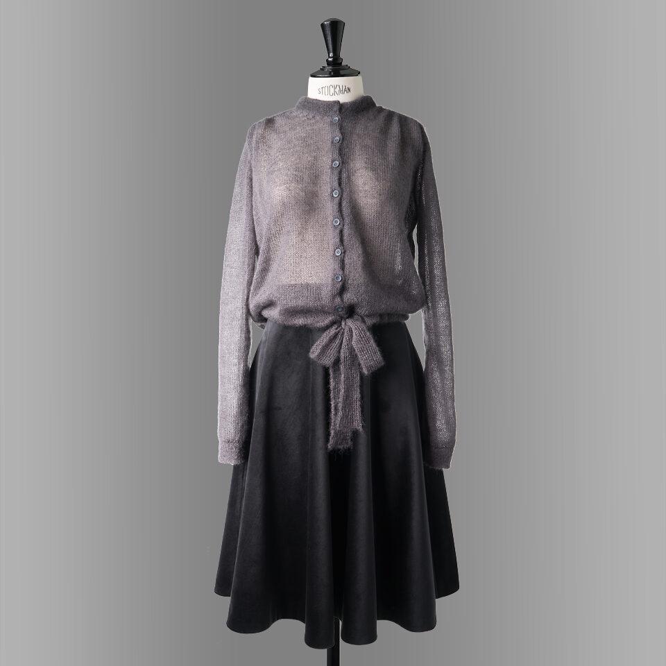 skirt-danube-black-cardigan-slate-front
