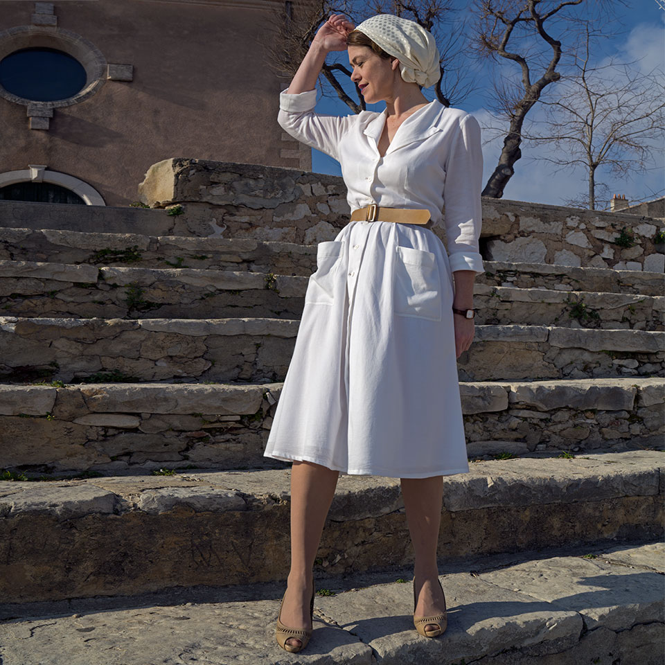 Shirtwaist dress Elbe