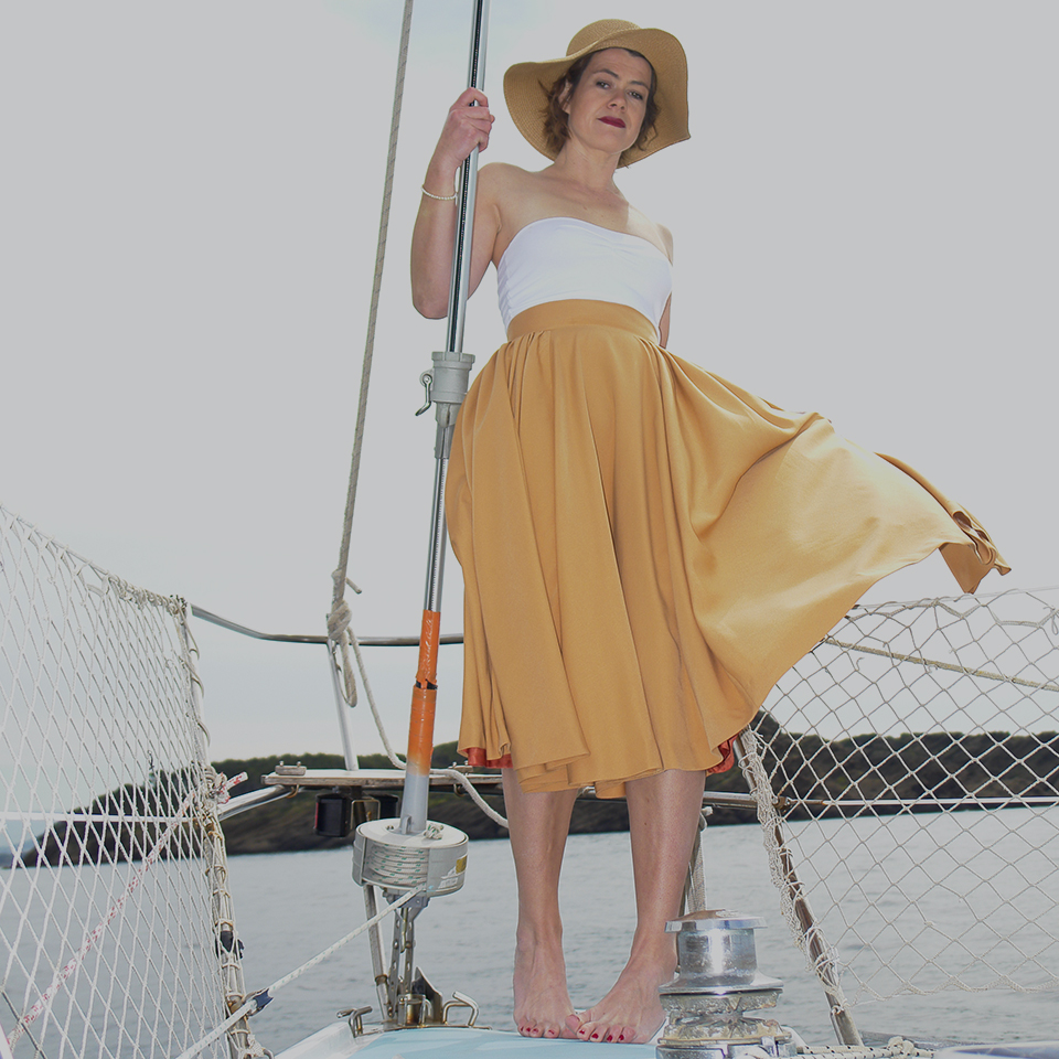 mia midi Skirt