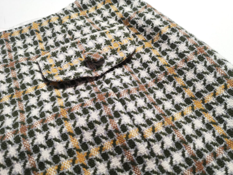 60s skirt detail
